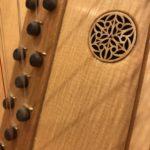 トリプル・ハープ|三列の弦|バロックハープ